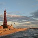 Blackpool Tower in the sunset hour by Matt Burke