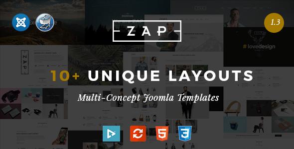 Zap v1.0 – Multipurpose Responsive Virtuemart Joomla templates