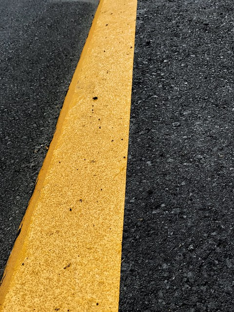 Road Marking Asphalt Yellow Road Transportation Street Textured  High Angle View No People LINE Yellow Line Dividing Line Day Outdoors The Way Forward Close-up Backgrounds Marking Road Sign
