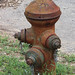 Rusty old Fire Hydrant in GrueneTexas
