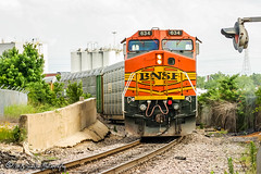 BNSF 634 | GE C44-9W | BNSF Thayer South Subdivision