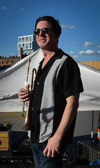 Johnny B on the Trumpet