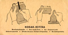 Kodak Retina - Every-ready Case Instructions