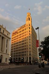 Sunset over the Emily Morgan Hotel - San Antonio, Texas