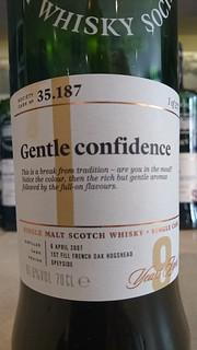 SMWS 35.187 - Gentle confidence