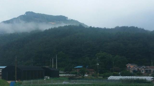 정중동 아침풍경 | 견훤산성(장암산)