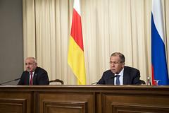 С.Лавров и Д.Медоев | Sergey Lavrov & Dmitry Medoev