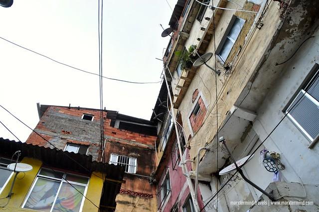 Vila Canoas Favela in Rio de Janeiro