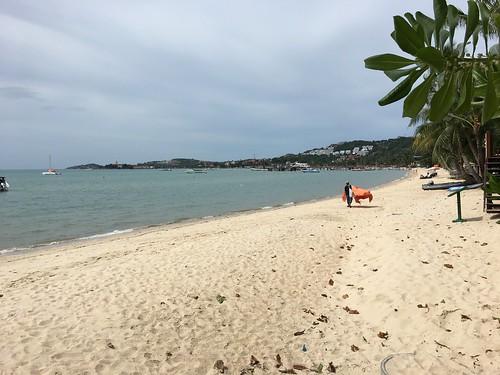 今日のサムイ島 7月11日 バンラックビーチ(ビッグブッダビーチ)