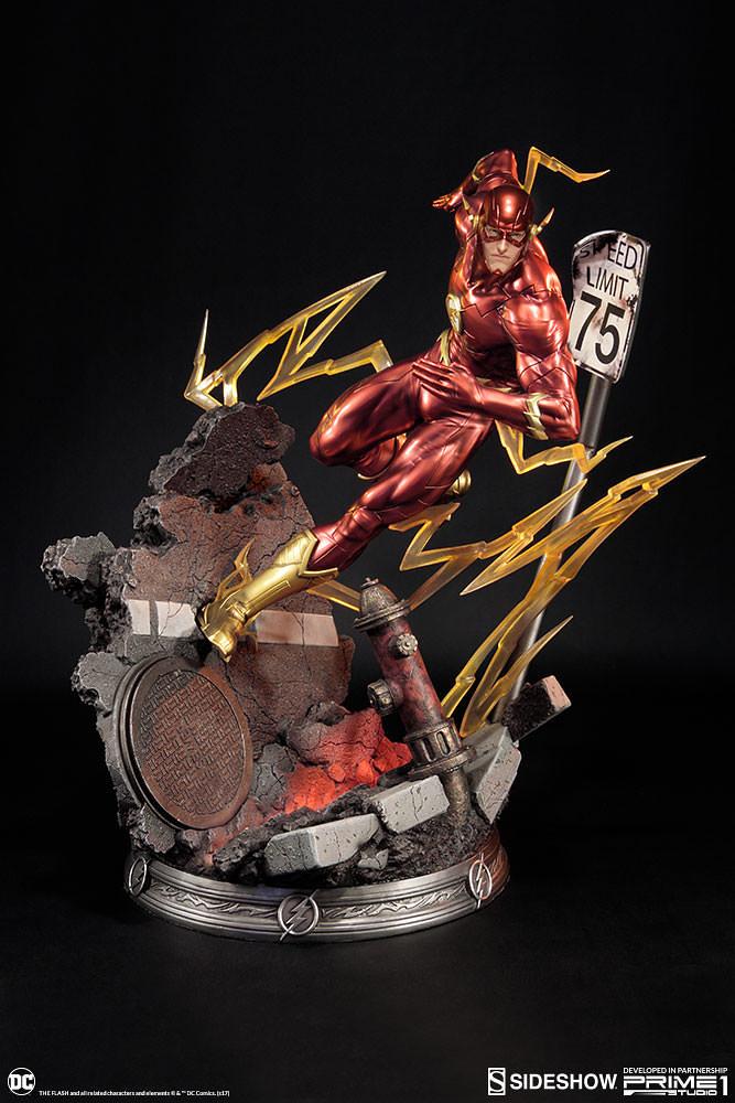 Prime 1 Studio 正義聯盟 新52【閃電俠】Justice League New 52 The Flash  1/4 比例全身雕像作品 PMN52-04EX