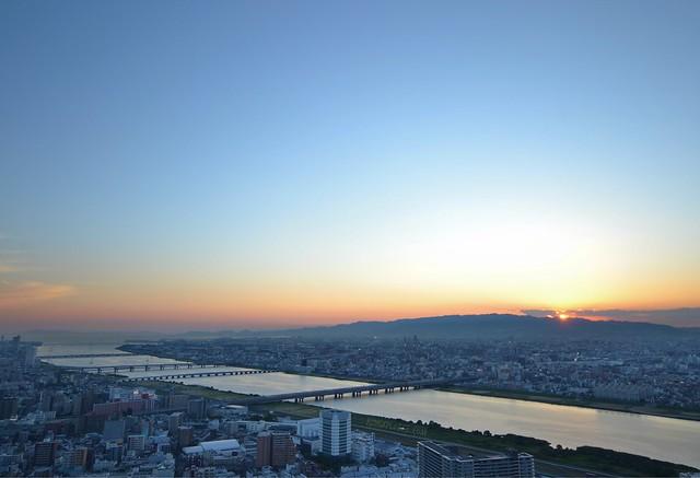Umeda Sky Building Floating Garden Observatory osaka amazing pass