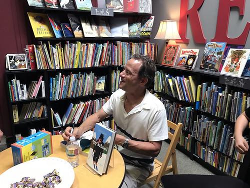 Stuart Gibbs Book Release