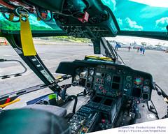 MH-65D Cockpit Panorama
