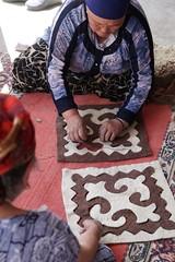 Sewing felt mats, Kochkorka