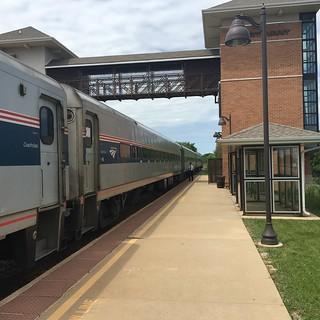 20160611 04 Amtrak, Sturtevant, Wisconsin