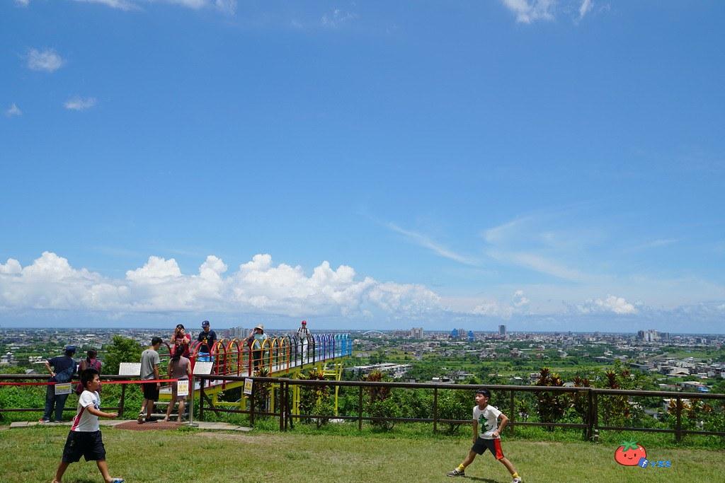 宜蘭彩色天空步道 宜蘭景點推薦 兔子迷宮