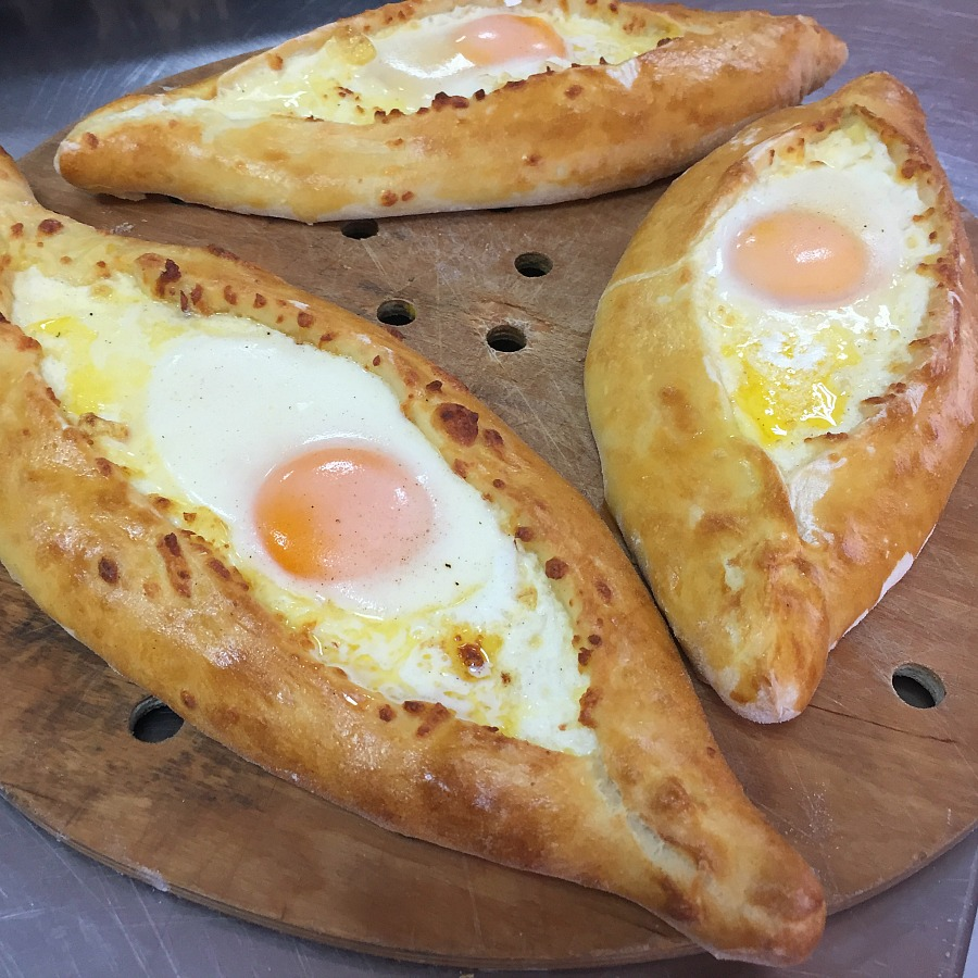 Khachapuri - Georgian Cheese Bread