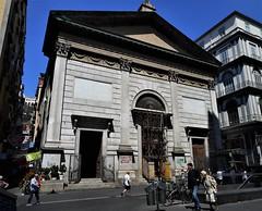 Santa Maria delle Grazie a Toledo Church in Naples (after 1835) - Architect Carlo Parascandolo