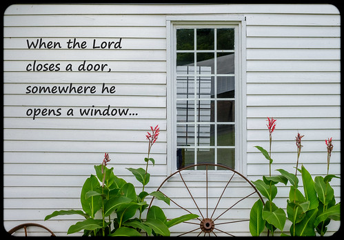 Inspirational Series - The Window.