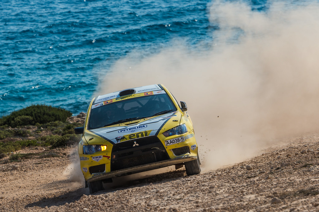 26 GALATARIOTIS Simos (cyp) and IOANNOU Antonis (cyp), PETROLINA - ENI RACING TEAM MITSUBISHI LANCER EVO X action during the 2017 European Rally Championship ERC Cyprus Rally,  from june 16 to 18  at Nicosie, Cyprus - Photo Thomas Fenetre / DPPI