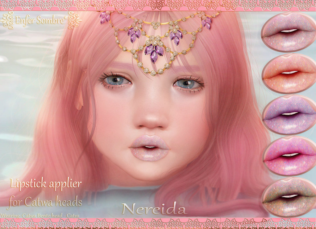 Nereida Lipsticks @Kawaii Project - SecondLifeHub.com
