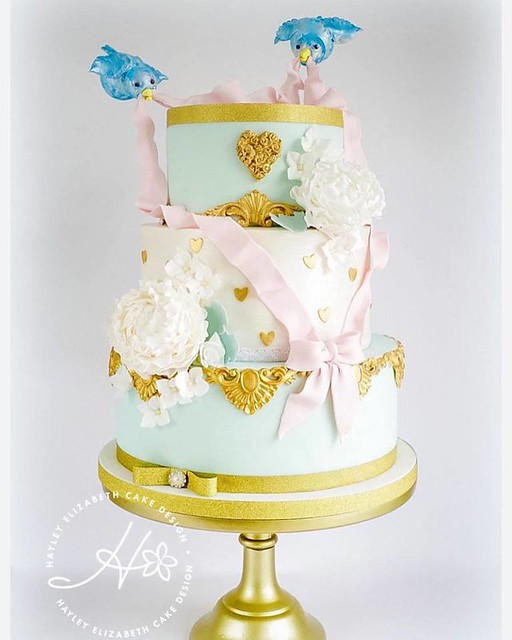 Chic Disney Inspired Design Cake by Hayley Elizabeth Cake Design