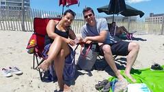 At Rockaway Beach