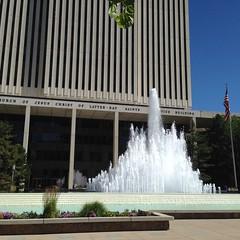 HQ--The Mormon Church Offices.