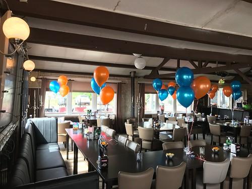 Tafeldecoratie 3ballonnen Boelies Hellevoetsluis
