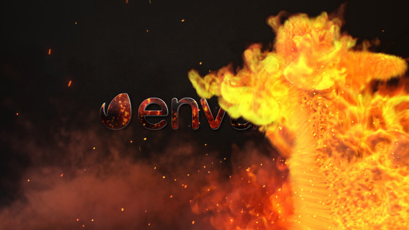 Fire Action Logo - Premiere Pro - 34