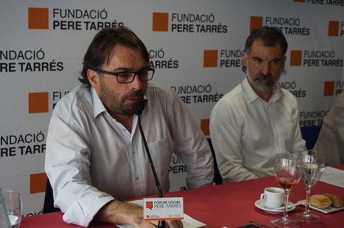 Camil Ros al Fòrum Social Pere Tarrés