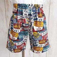 夏日海灘褲【版型下載】