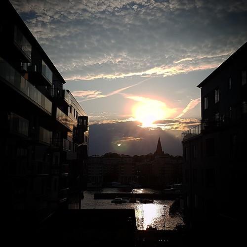 Stoccolma: tramonto