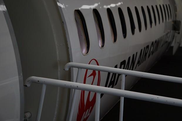 170625 鹿児島空港ソラステージJAC Q400モックアップ