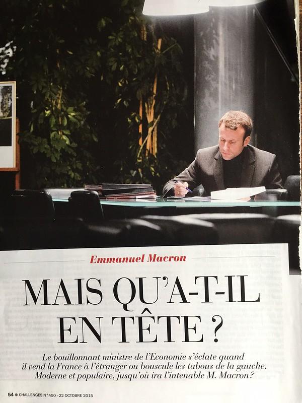 Emmanuel Macron juin 2015