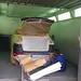 Porsche en cabine pour la mise en peinture. Carrosserie inter-union - 53 route de suisse, 1295 Mies Tél.022 755 45 30 - Fax. 022 779 03 28 Site internet: www.interunion.ch