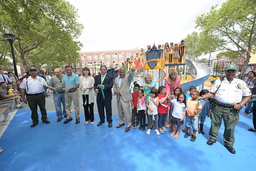 Van Alst Playground in Astoria, Queens