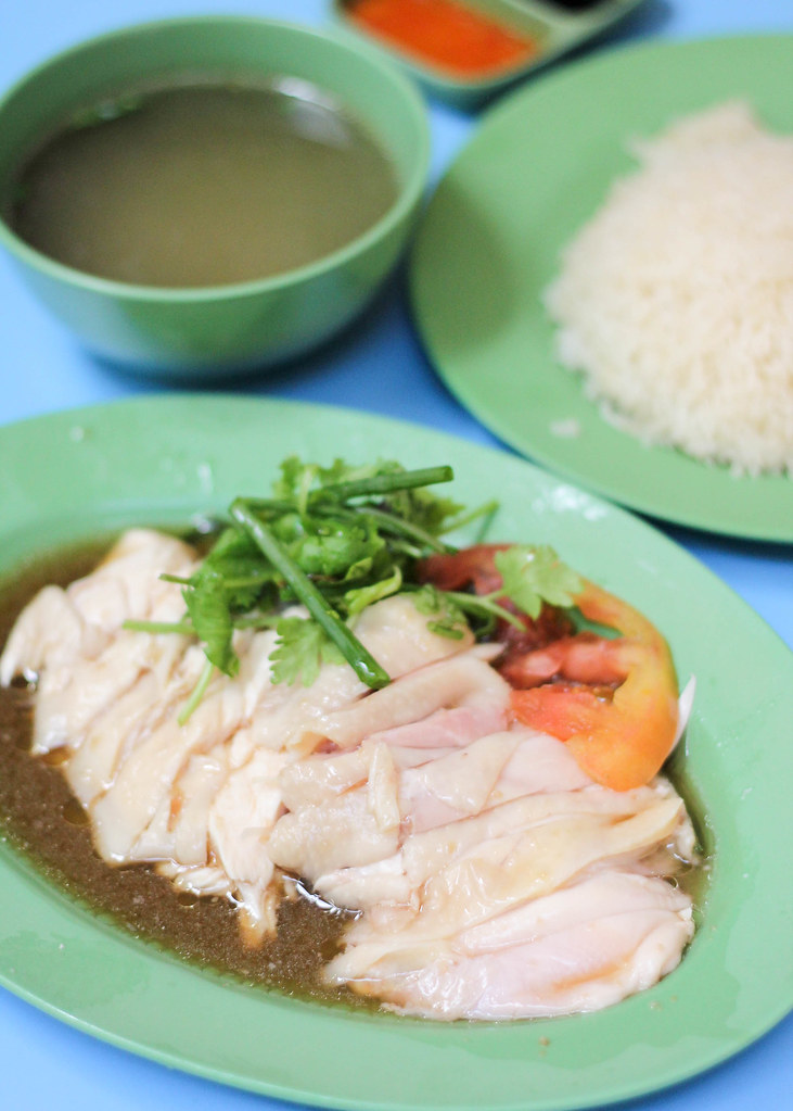 Golden Mile Food Centre: Hainanese Boneless Chicken Rice
