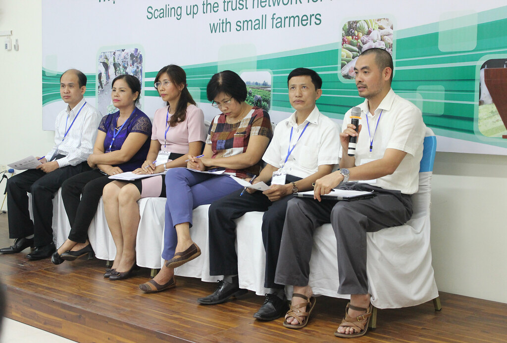Workshop: Scaling up the trust networks for food safety with small farmers