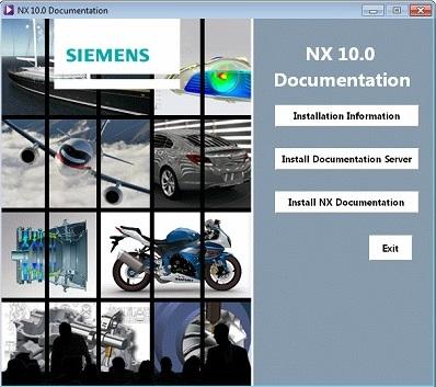 Siemens PLM NX 10.0 Win64 Multilanguage Documentation