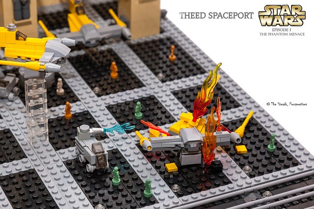 Theed Spaceport MOC - 5
