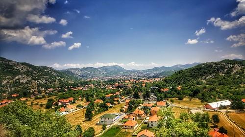 landscape cettinge travel montenegro