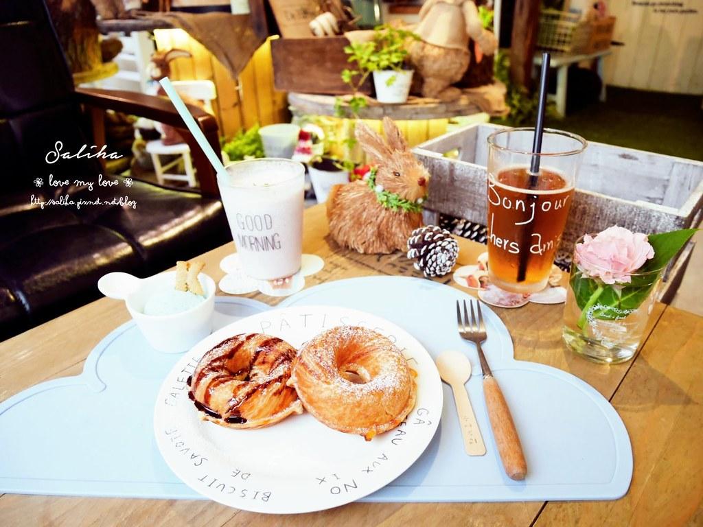 台中市西區夢幻咖啡館餐廳下午茶推薦PUGU 田園雜貨  (3)