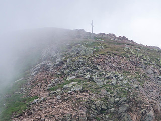 Schwarzhorn-Gipfel (2.439 m)