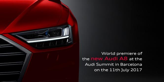 Audi A8 world premiere
