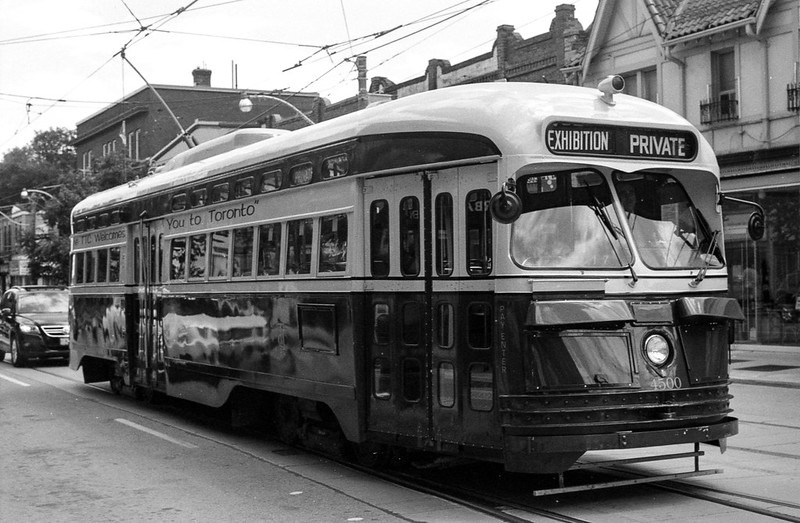 PCC Car on Queen St. East