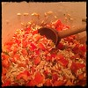 #RedPepper #Pilaf #food #homemade #CucinaDelloZio - mix well