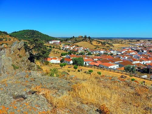<Panorámica> El Almendro (Huelva)