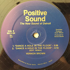 VERNON BROWN:CHECK IT OUT(LABEL SIDE-B)