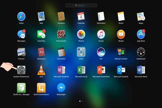 Hướng dẫn hiển thị ứng dụng đang chạy trên màng hình - Cách bật tắt tính năng Hot Corners